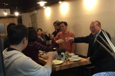 東京支社新年会@栄屋の画像